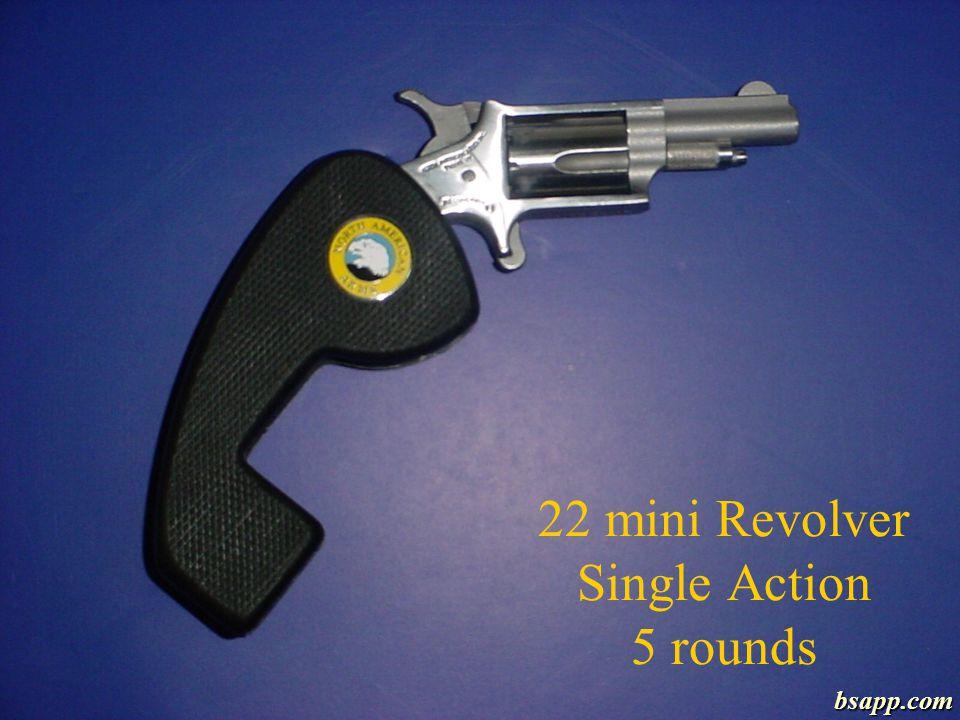 22 mini Revolver Single Action 5 rounds bsapp.com