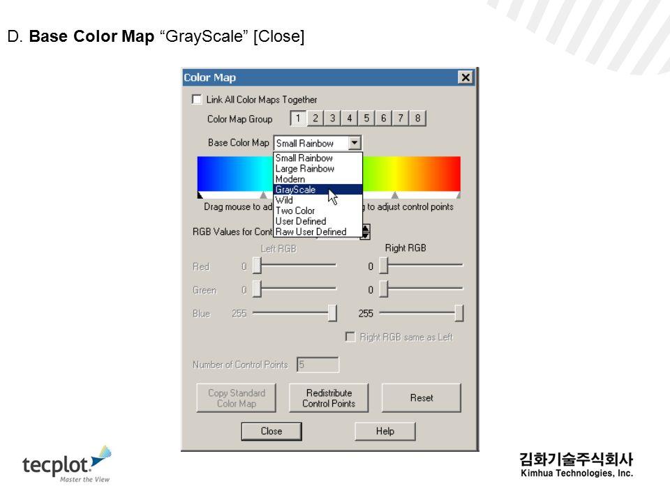 D. Base Color Map GrayScale [Close]