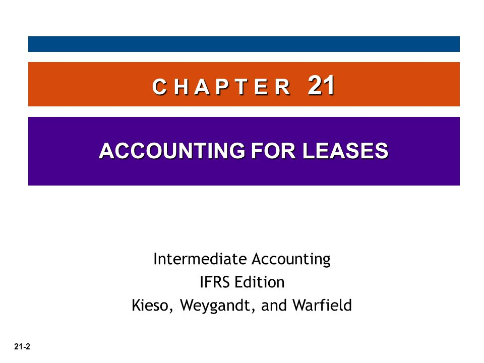 21-13 Capitalization Criteria Accounting by the Lessee Transfer of Ownership Test   Not controversial and easily implemented.