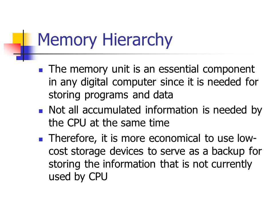 Memory Address Map Memory Address Map is a pictorial representation of assigned address space for each chip in the system To demonstrate an example, assume that a computer system needs 512 bytes of RAM and 512 bytes of ROM The RAM have 128 byte and need seven address lines, where the ROM have 512 bytes and need 9 address lines