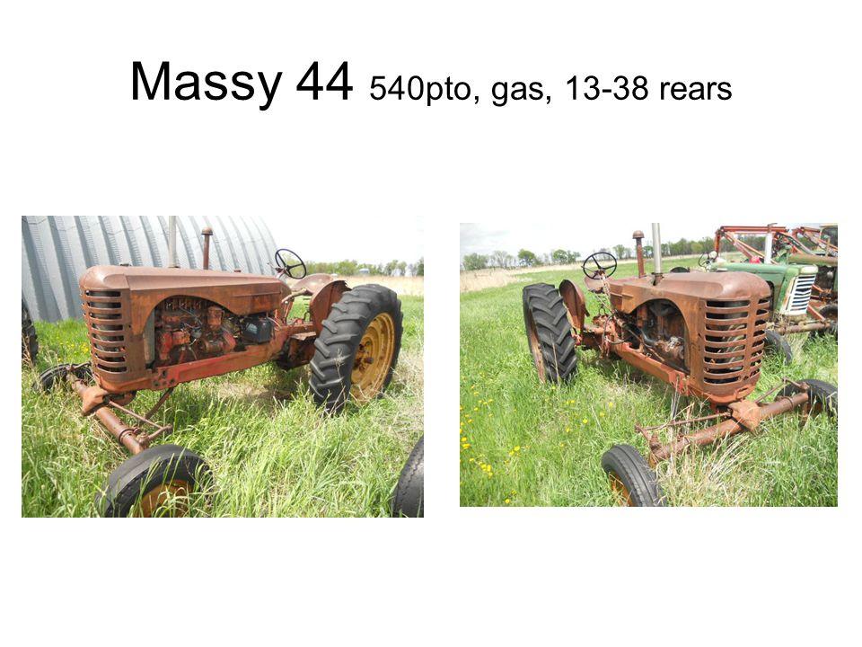 Massy 44 540pto, gas, 13-38 rears