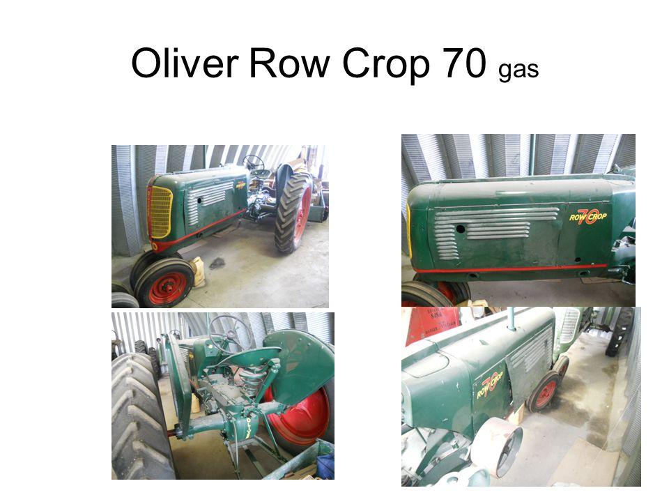 Oliver Row Crop 70 gas