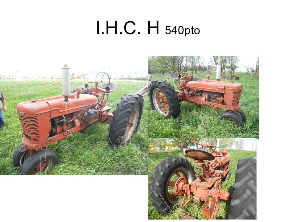 I.H.C. H 540pto
