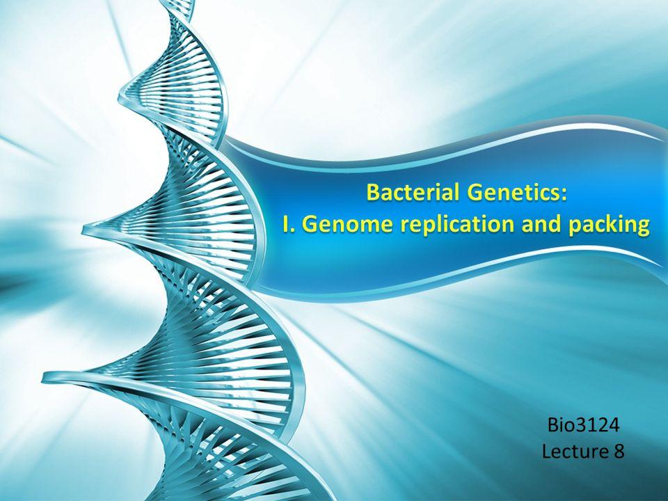 Bio3124 Lecture 8