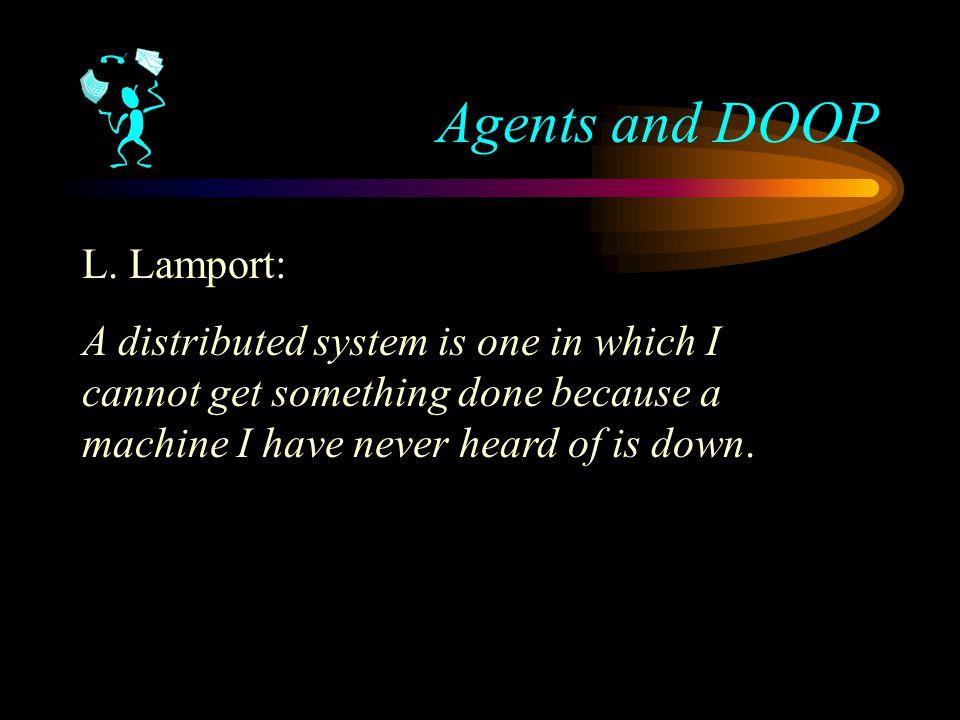 Agents and DOOP L.