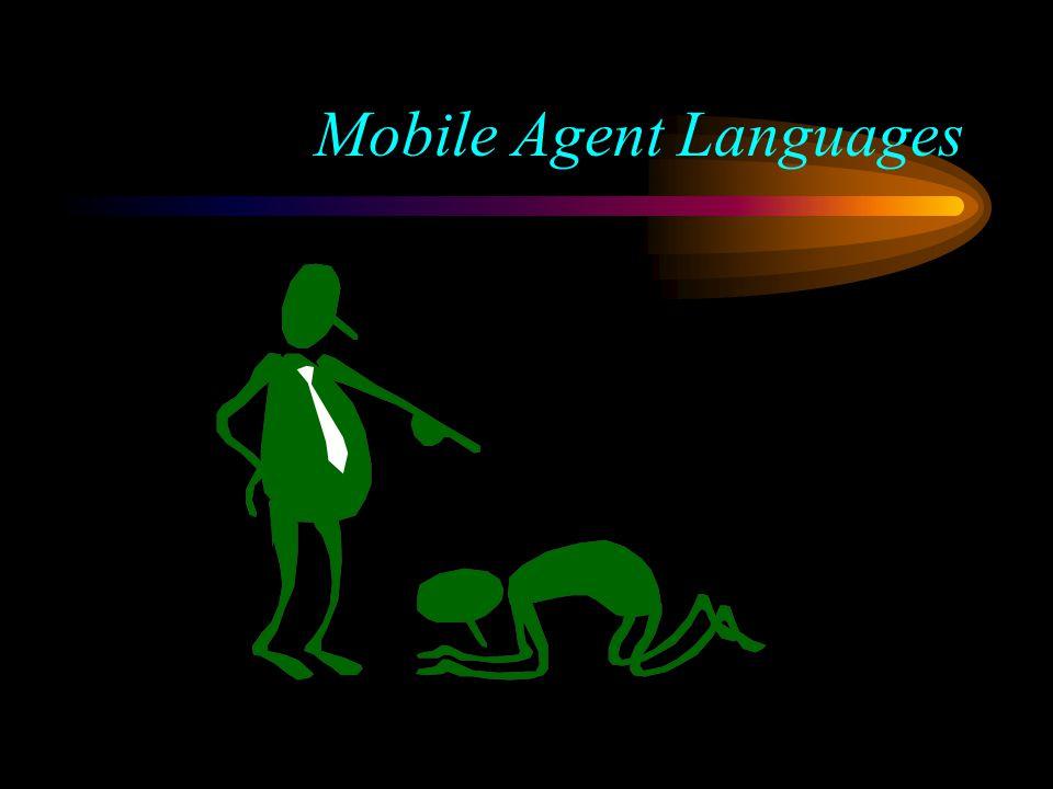 Mobile Agent Languages