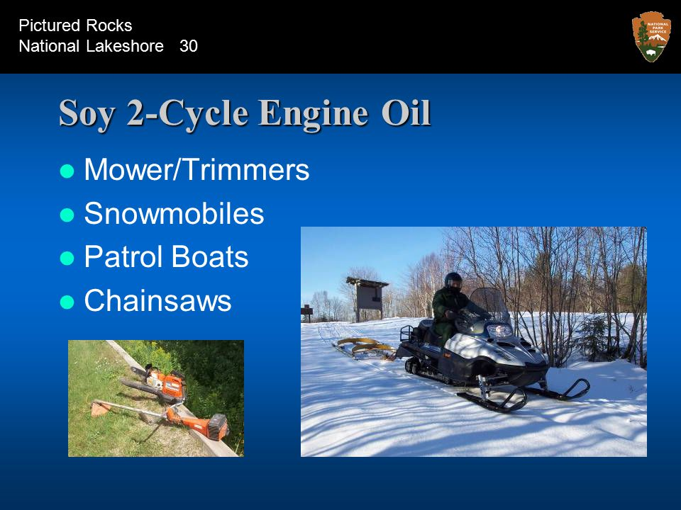 Soy 2-Cycle Engine Oil Mower/Trimmers Snowmobiles Patrol Boats Chainsaws Pictured Rocks National Lakeshore 30