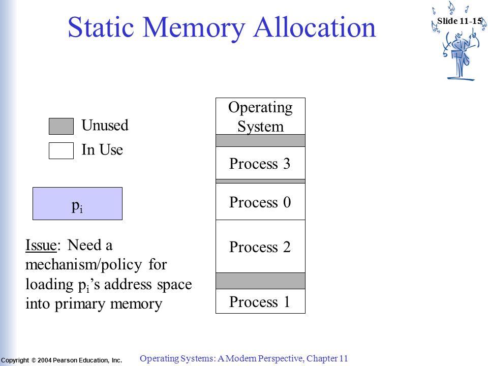 Slide 11-15 Copyright © 2004 Pearson Education, Inc.
