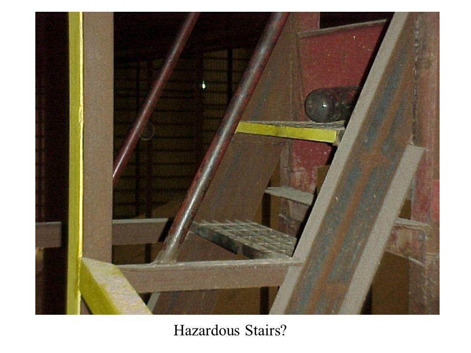 Hazardous Stairs