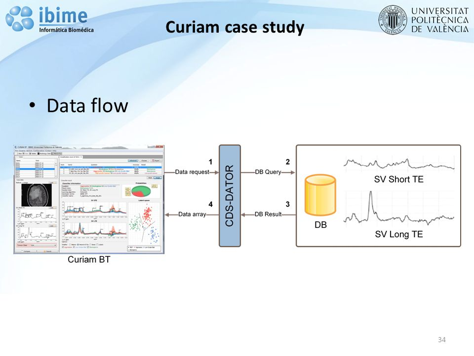 Curiam case study Data flow 34