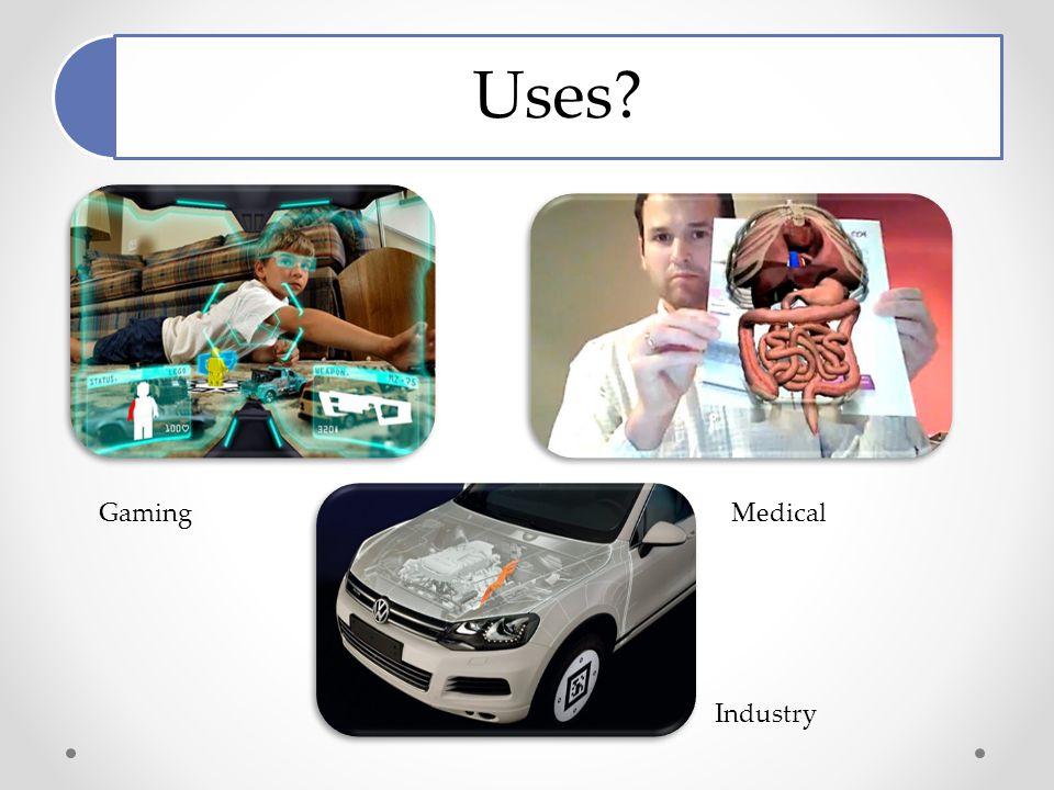 Uses GamingMedical Industry