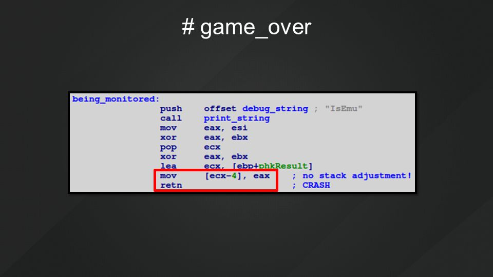 # game_over