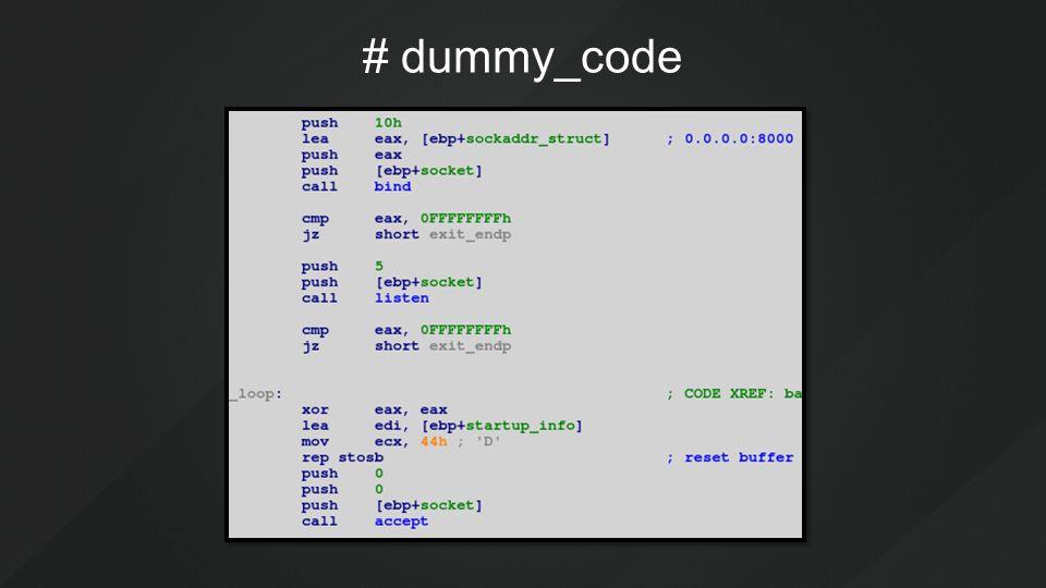 # dummy_code