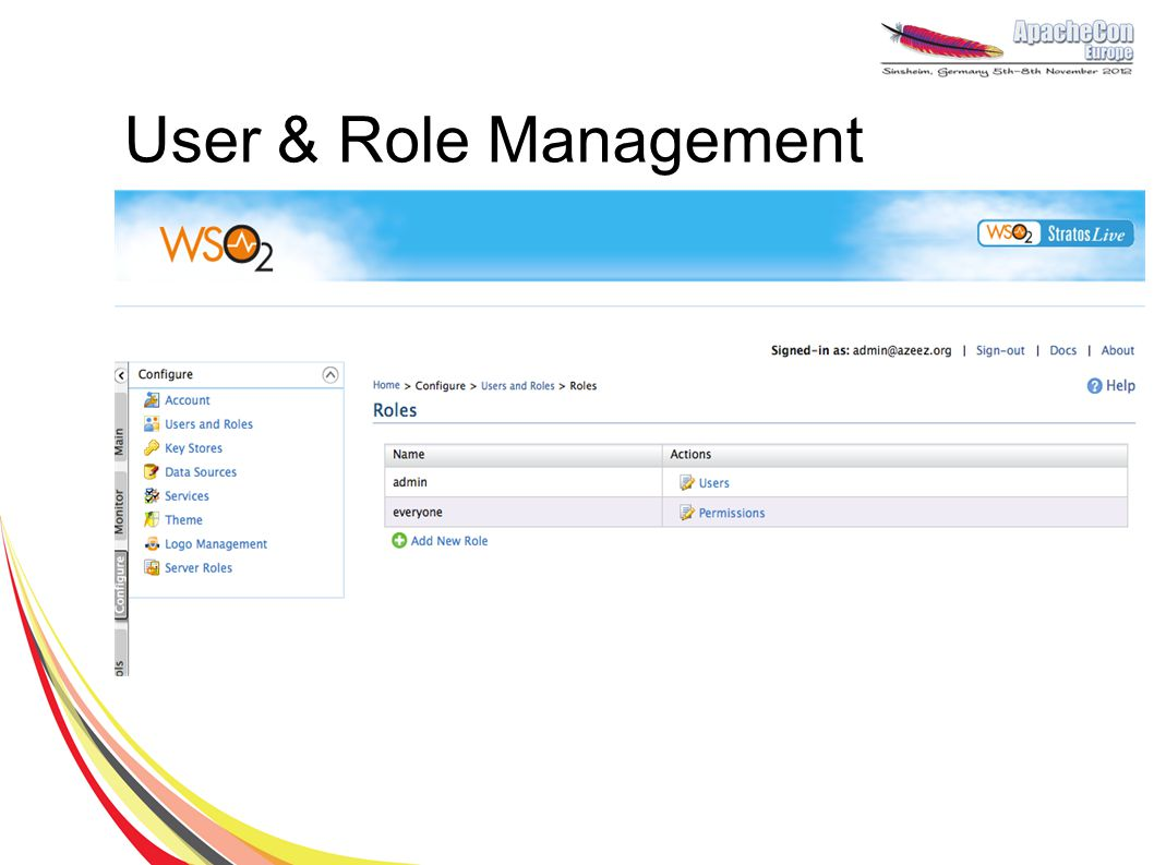 User & Role Management