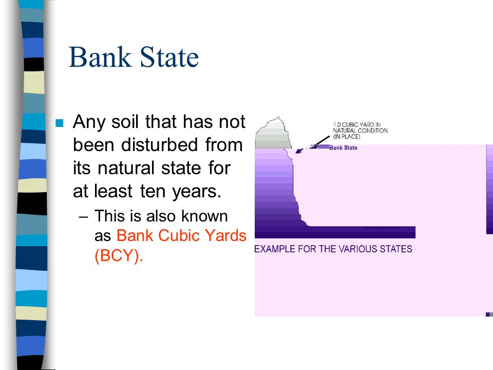 Soil States n Soil is found in three states. –Sometimes it is necessary to convert from one volume to another. –To do this we use table #1-1.