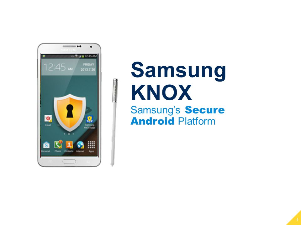 27 Samsung KNOX | Find Out More www.samsungknox.com/