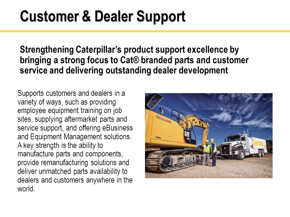 Our Goals: Our customers are profitable and create a more sustainable world Stockholders view us as a great long-term investment Our people are engaged in a safe, inclusive environment Focused on our customers A winning strategy