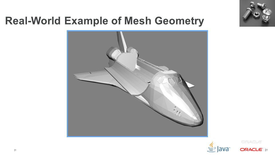 31 Real-World Example of Mesh Geometry