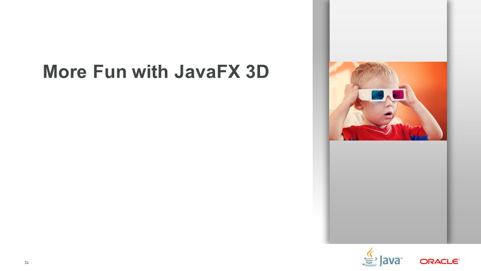 34 More Fun with JavaFX 3D
