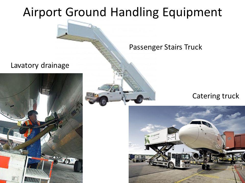 Airport Ground Handling Equipment Lavatory drainage Catering truck Passenger Stairs Truck
