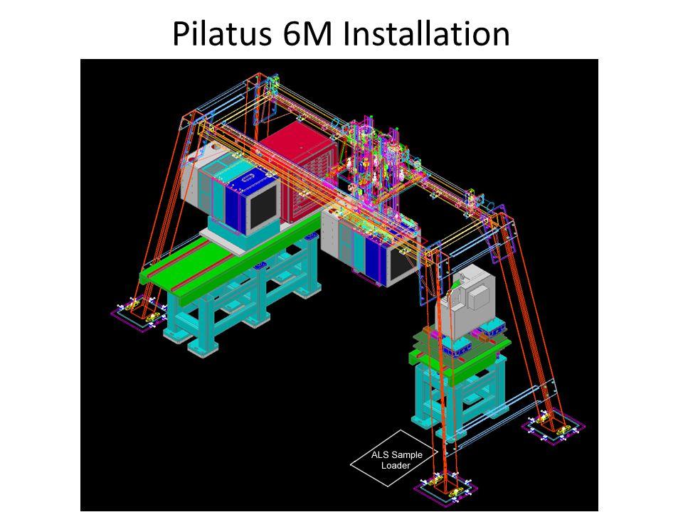 Pilatus 6M Installation