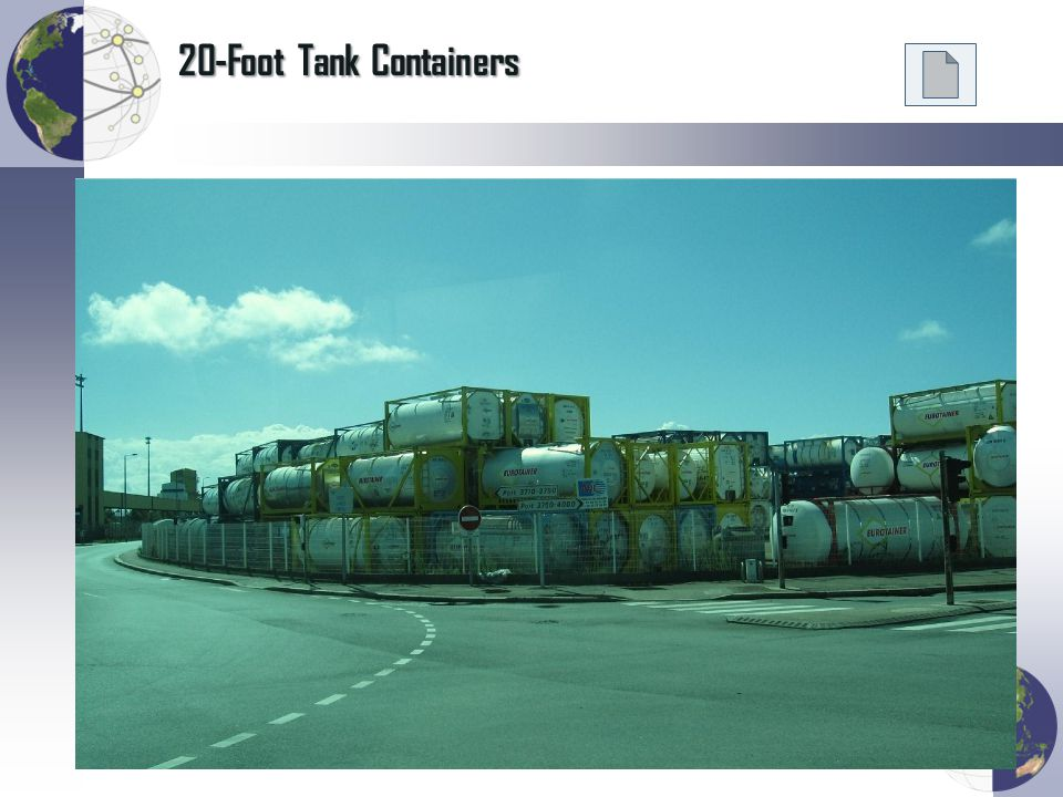 20-Foot Tank Containers