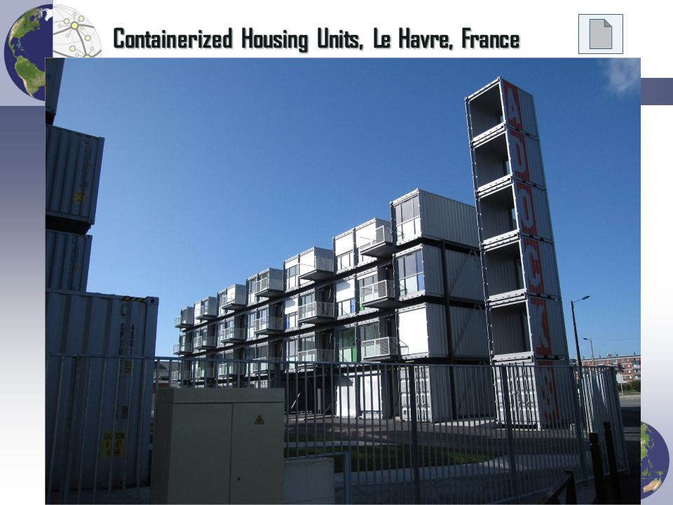 Containerized Housing Units, Le Havre, France