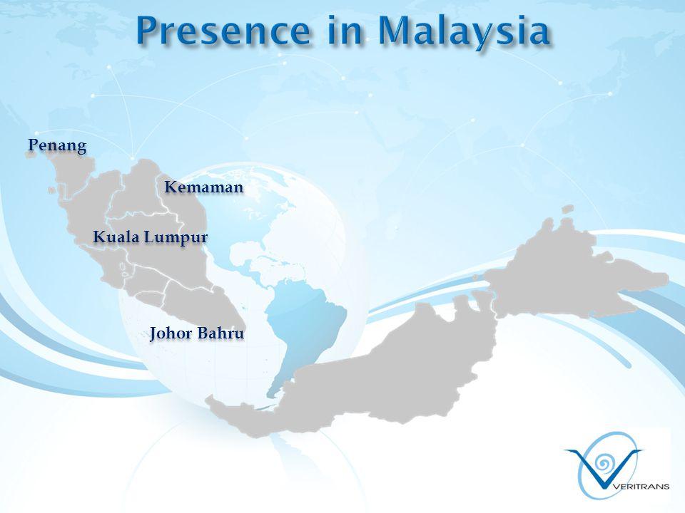 Kuala Lumpur Penang Kemaman Johor Bahru
