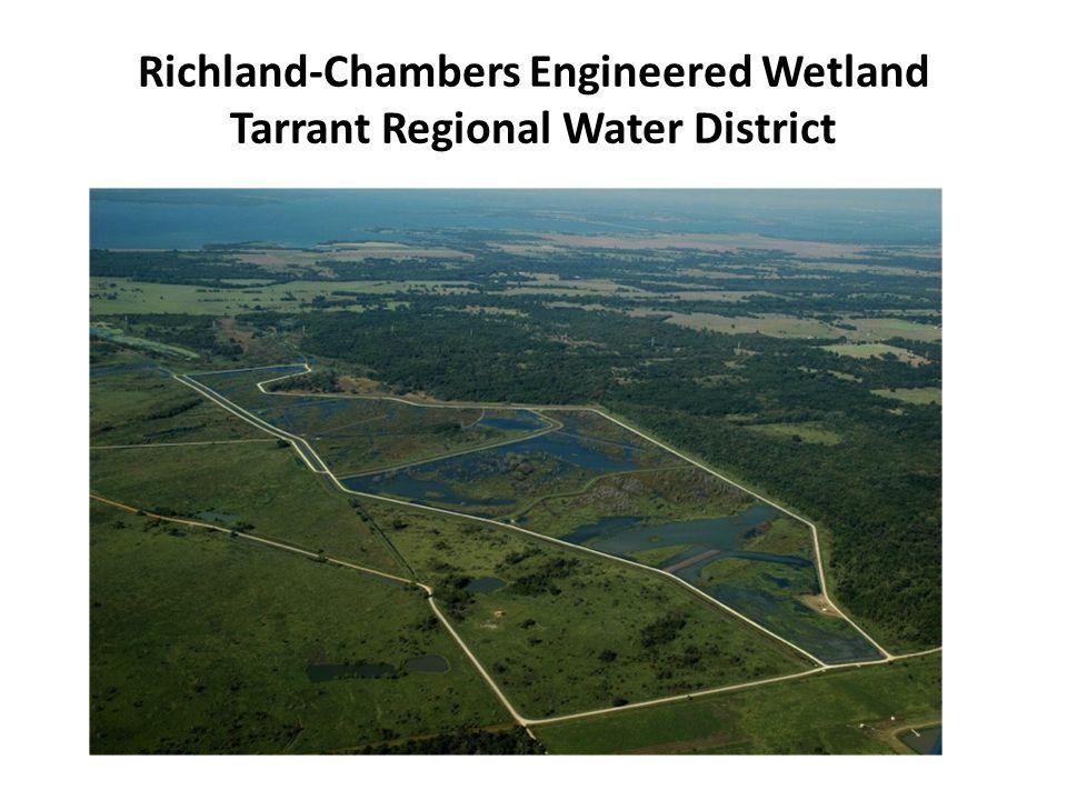 Richland-Chambers Engineered Wetland Tarrant Regional Water District