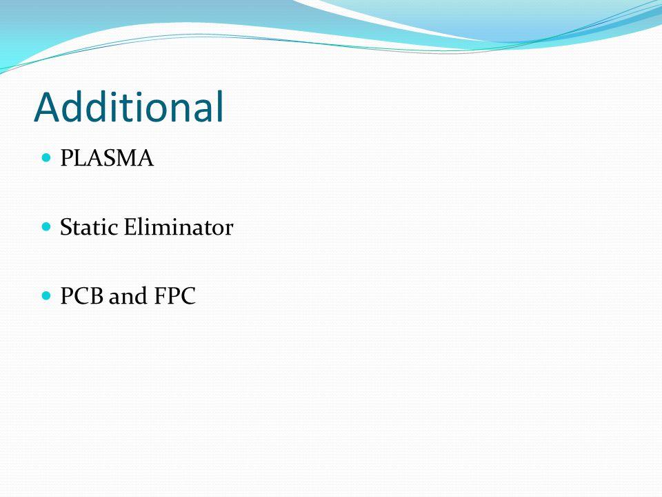 Additional PLASMA Static Eliminator PCB and FPC