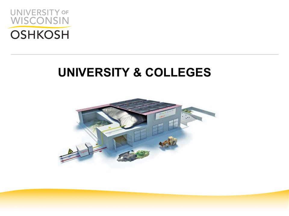 UNIVERSITY & COLLEGES