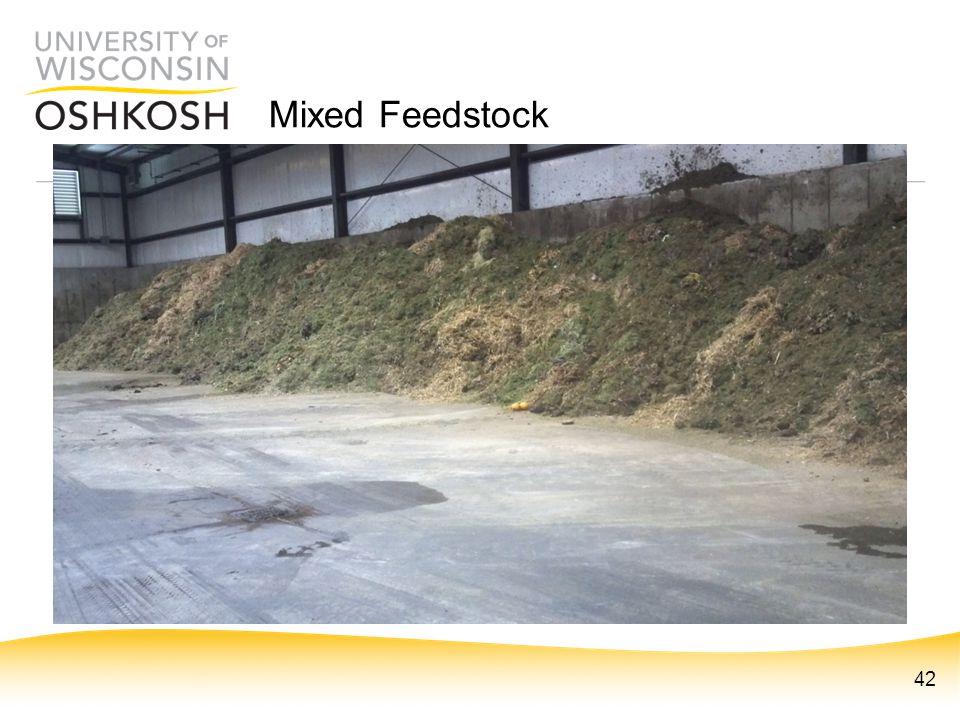 Mixed Feedstock 42