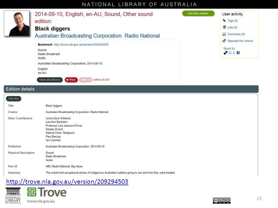 23 http://trove.nla.gov.au/version/209294503