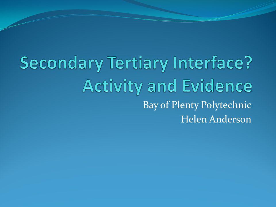 Bay of Plenty Polytechnic Helen Anderson