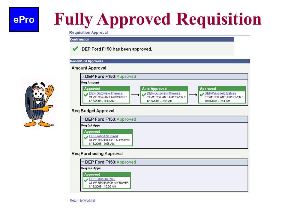 ePro Worklist