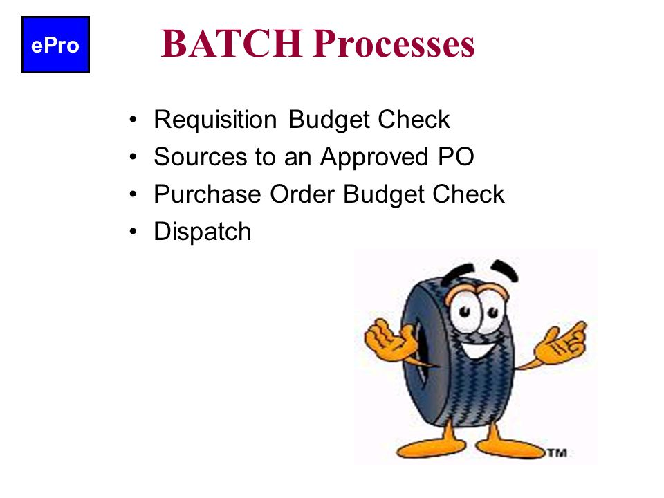 ePro Fully Approved Requisition