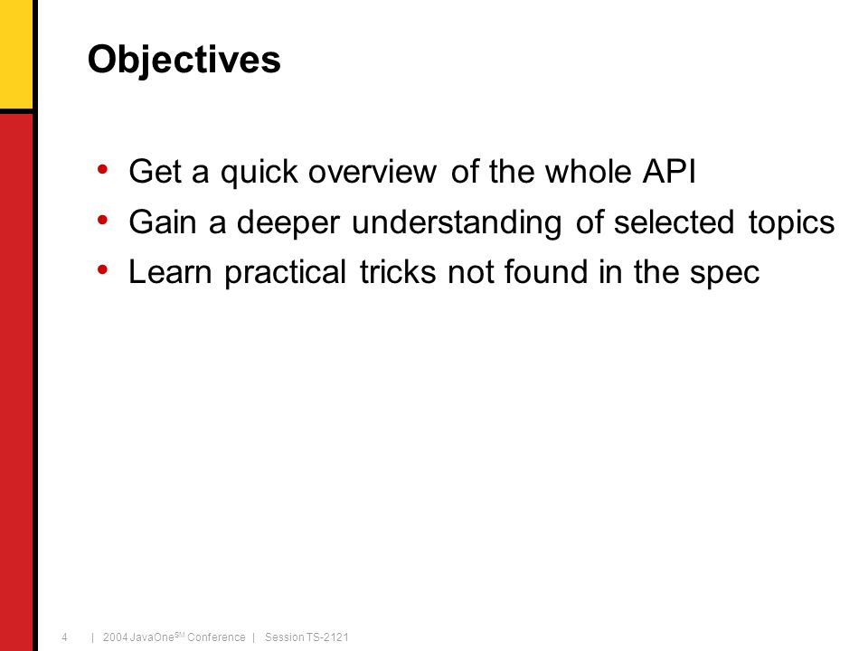 | 2004 JavaOne SM Conference | Session TS-2121 45 Demo Hierarchic transformations 45