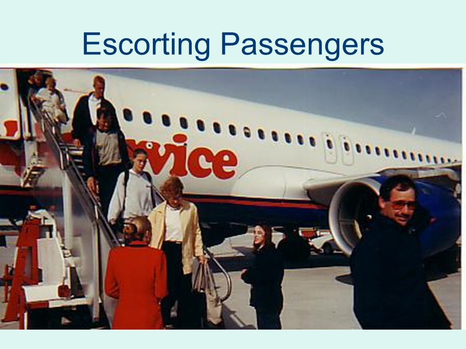 Escorting Passengers