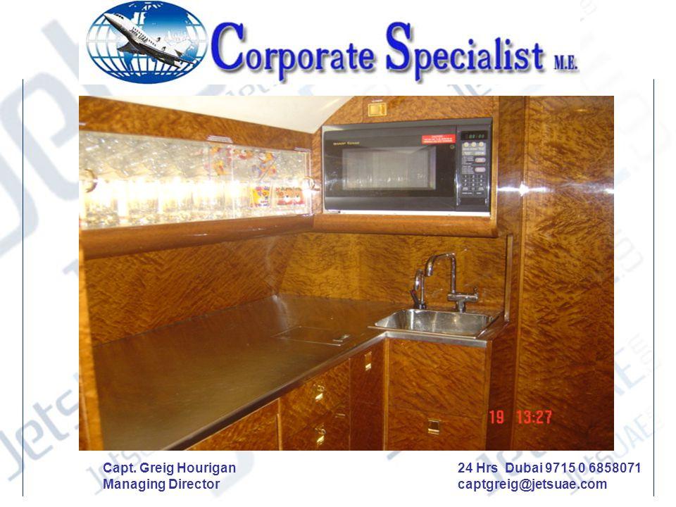 Aircraft No 2 24 Hrs Dubai 9715 0 6858071 captgreig@jetsuae.com Capt. Greig Hourigan Managing Director