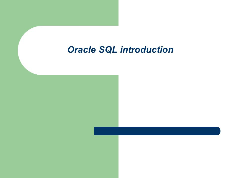 SQL*Plus Command Summary (II) spool connect describe column set show all exit help