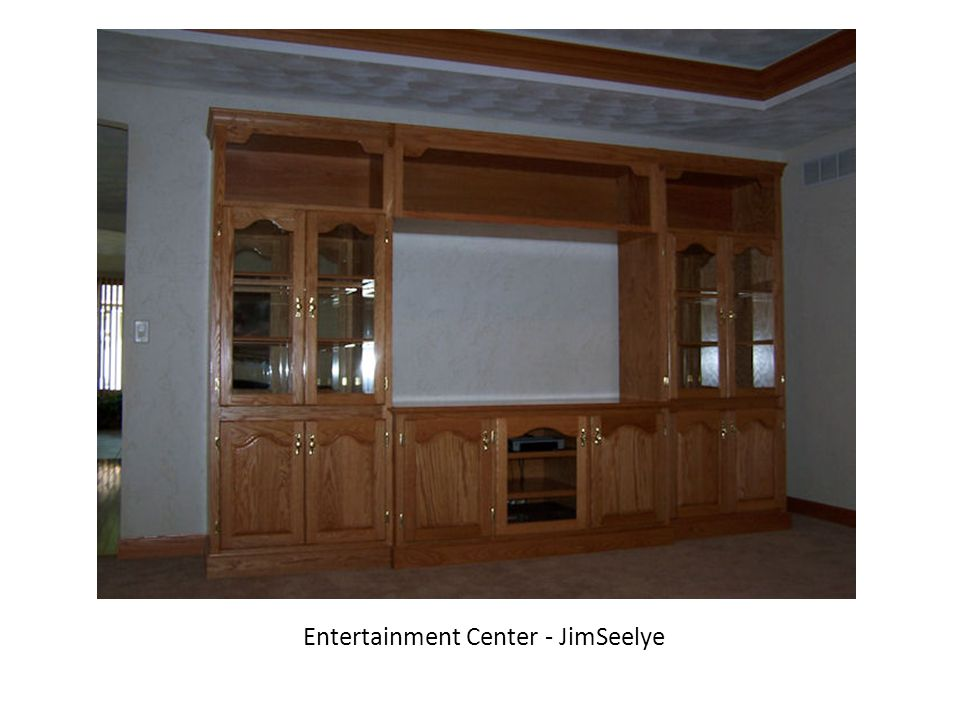 Entertainment Center - JimSeelye