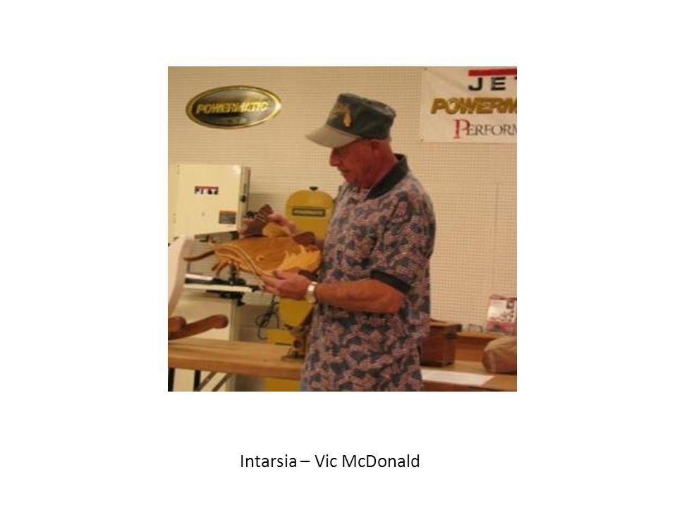 Intarsia – Vic McDonald