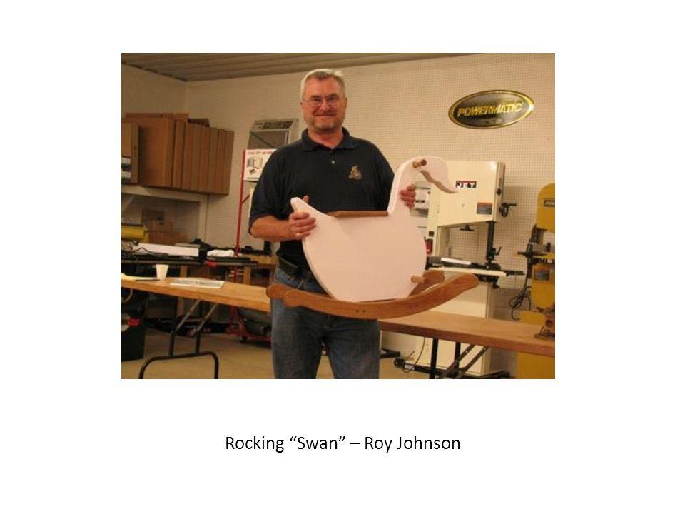 """Rocking """"Swan"""" – Roy Johnson"""