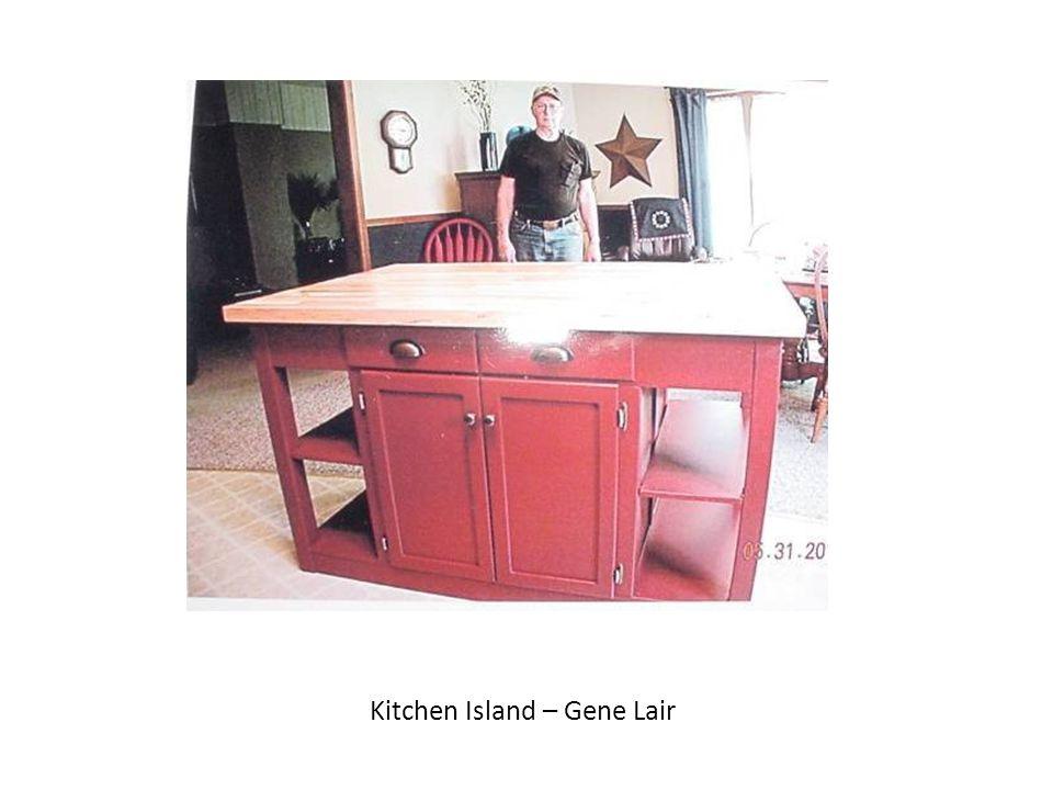 Kitchen Island – Gene Lair