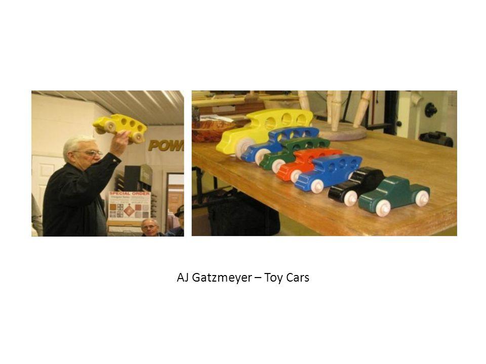 AJ Gatzmeyer – Toy Cars