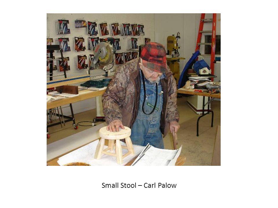 Small Stool – Carl Palow