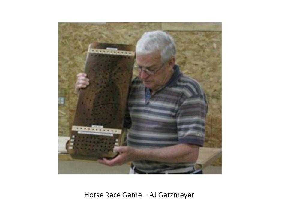 Horse Race Game – AJ Gatzmeyer