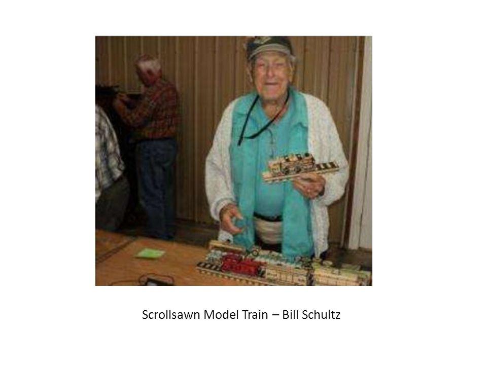 Scrollsawn Model Train – Bill Schultz