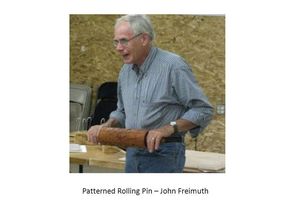 Patterned Rolling Pin – John Freimuth