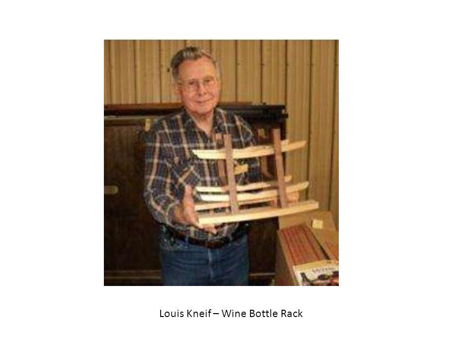 Louis Kneif – Wine Bottle Rack